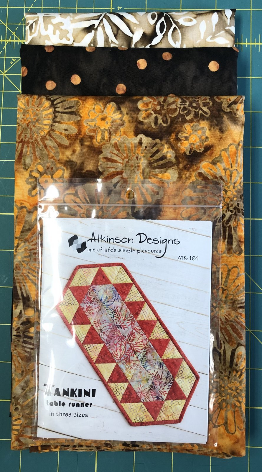 Fall Batik Table Runner Kit
