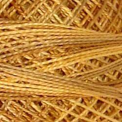 Valdani 5 JP2 Spun Gold  Pearl Cotton Variegated Ball  42m