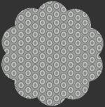 Oval Elements - Silver Drop 927