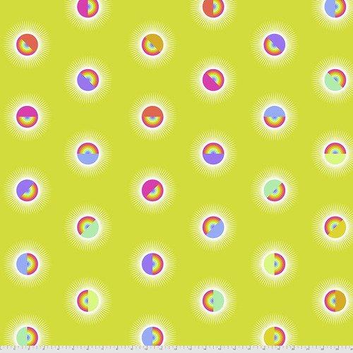 Saturdaze - Pineapple, Tula Pink 108 Wide Backing Fabric, Pre order