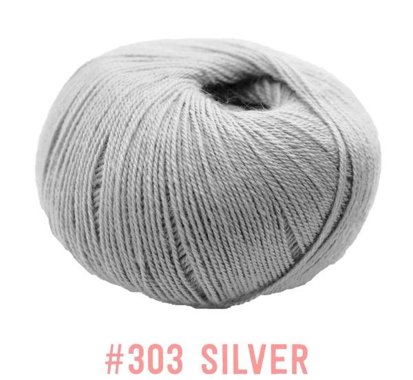 Knit One Crochet Too Winter Blossom 303 Silver