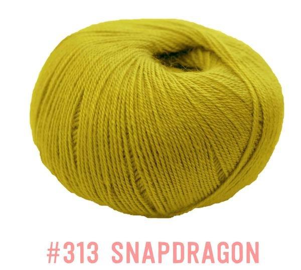 Knit One Crochet Too Winter Blossom 313 Snap Dragon