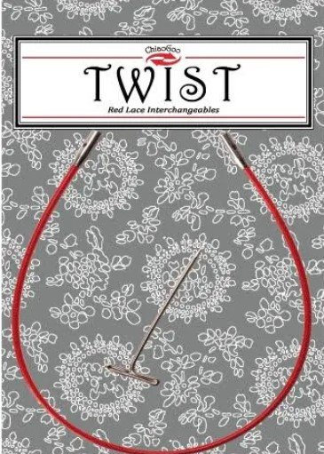 Chiao Goo Twist Red Cable Small (SM)