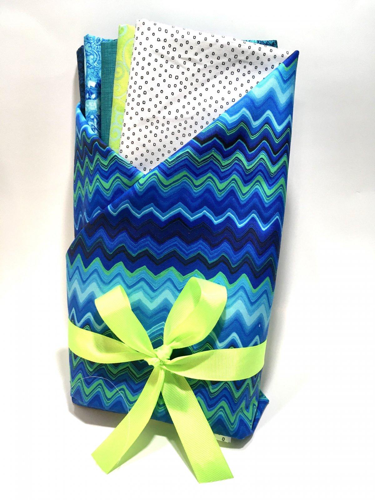 Great Basics Twin Size Quilt Kit Cobalt Blue