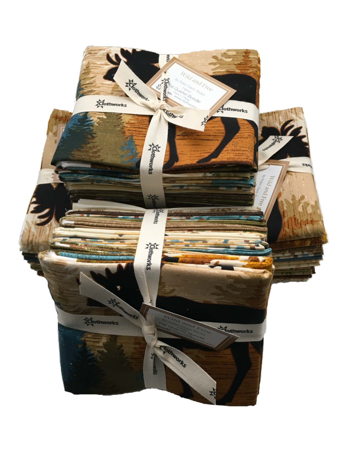 Wild and Free Fat Quarter Bundle