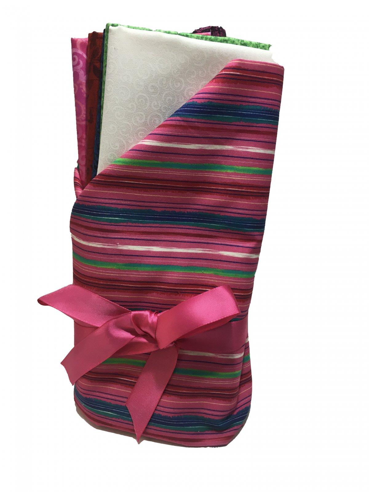 Great Basics Crib Size Quilt Kit Alyssa Pink
