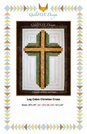Log Cabin Christian Cross