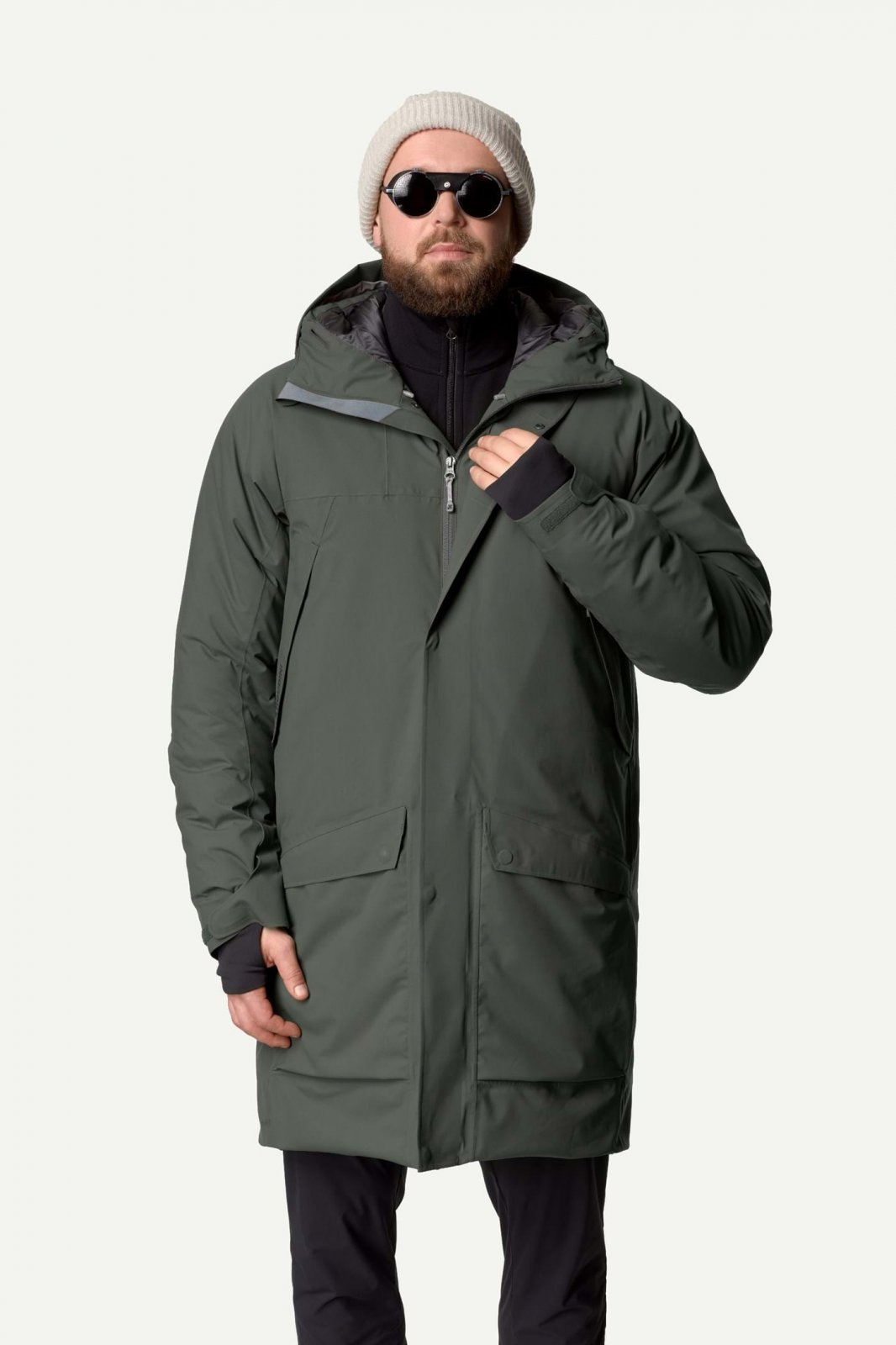 M Fall in Parka