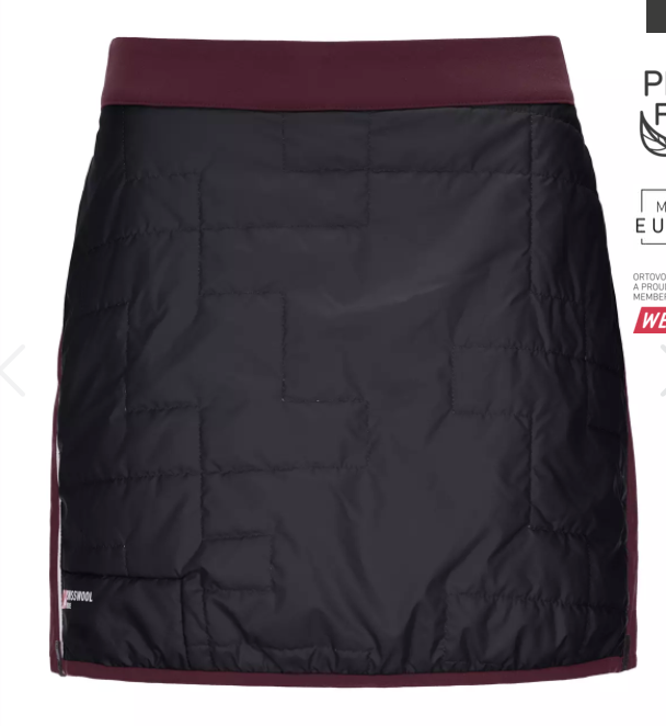 W Swisswool PIZ Boe Skirt