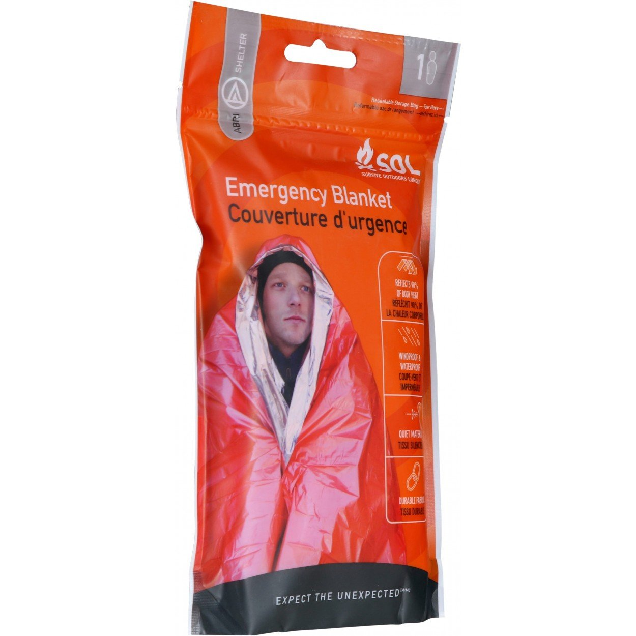 SOL Emergency Blanket 1PR