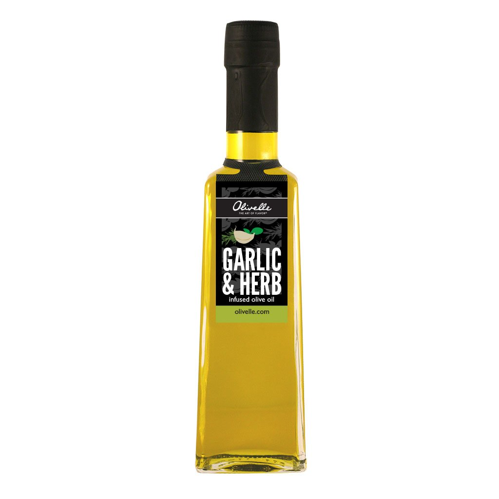 Garlic & Herb Infused Olive Oil