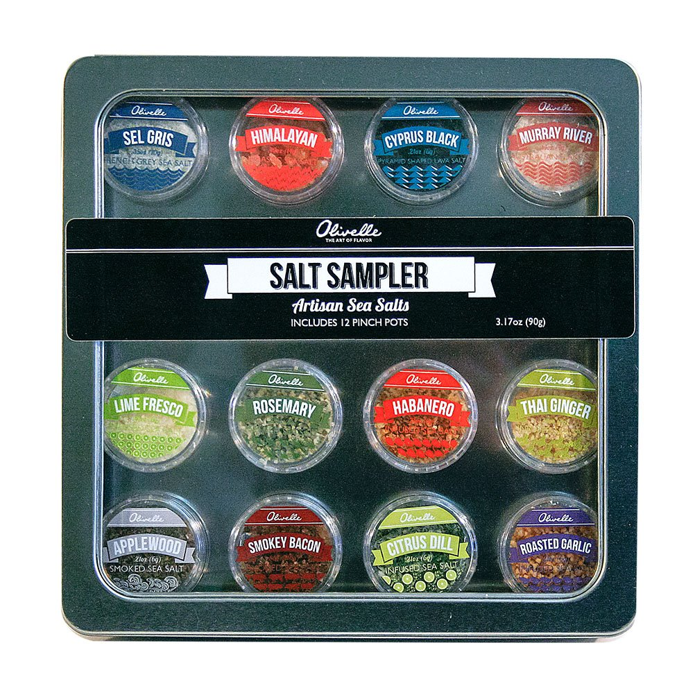 Infused Salt Sampler, 12 Pack