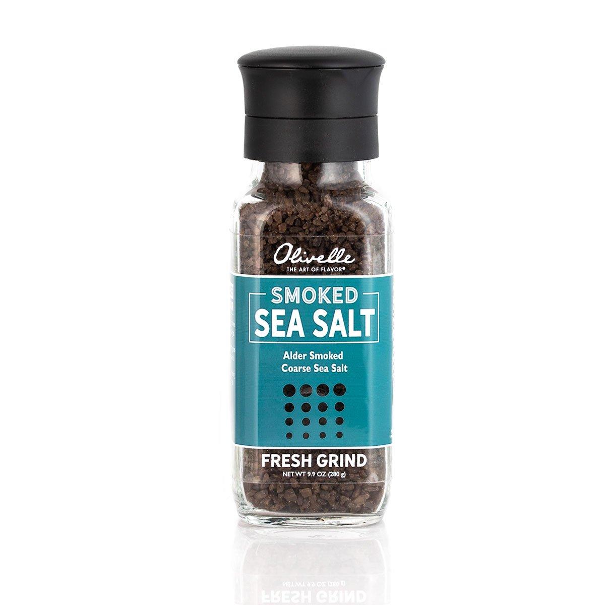 Alder Smoked Sea Salt Grinder