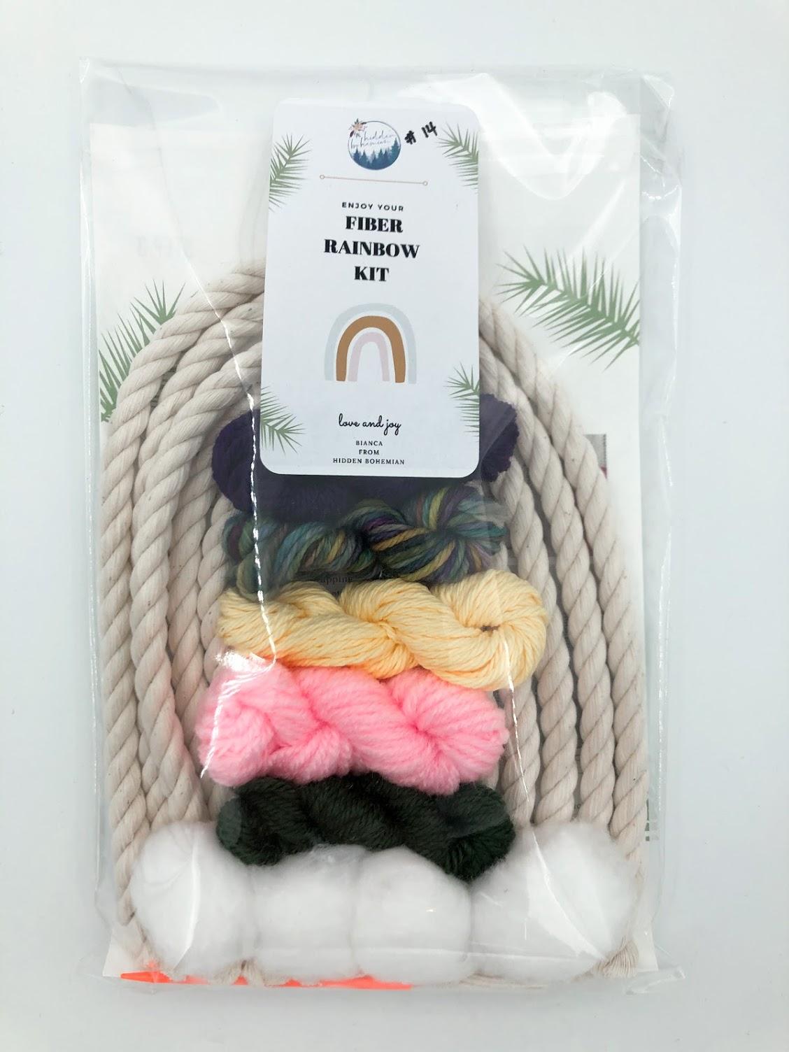 Rainbow Macrame Kit #14