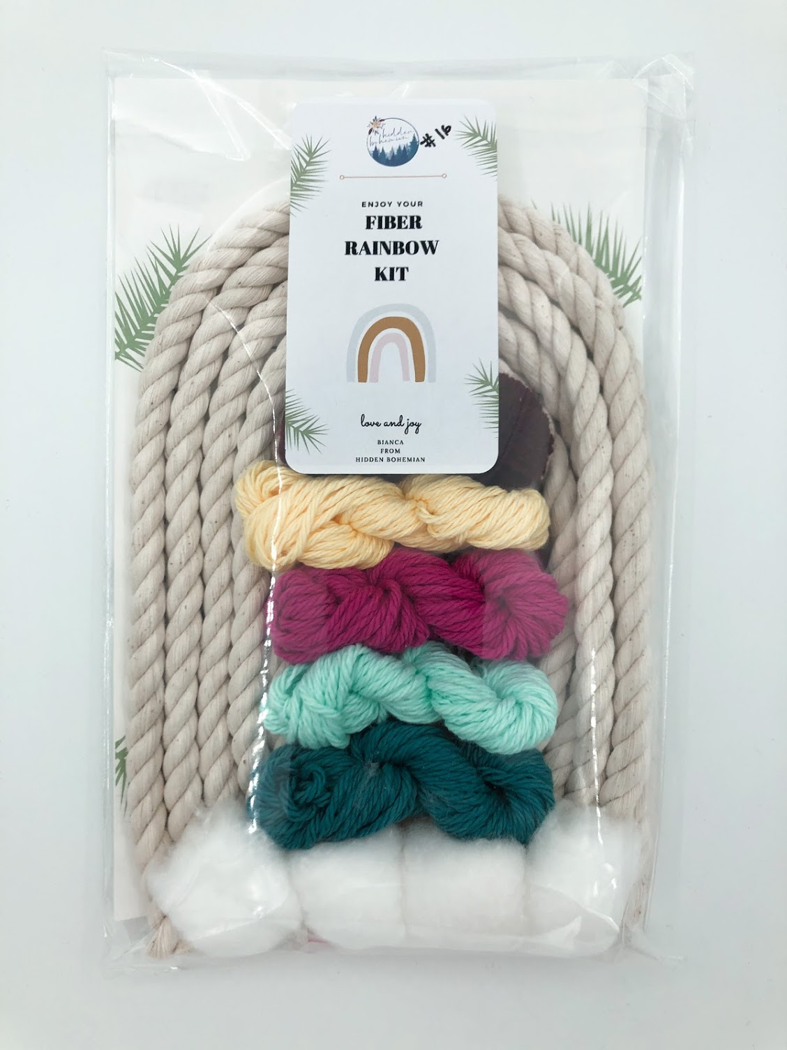 Rainbow Macrame Kit #16