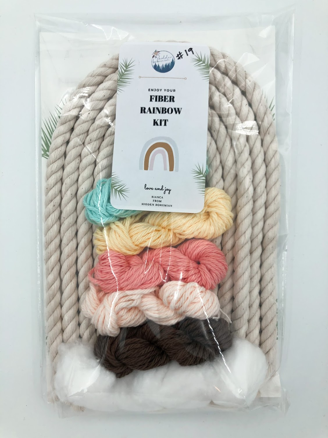 Rainbow Macrame Kit #19