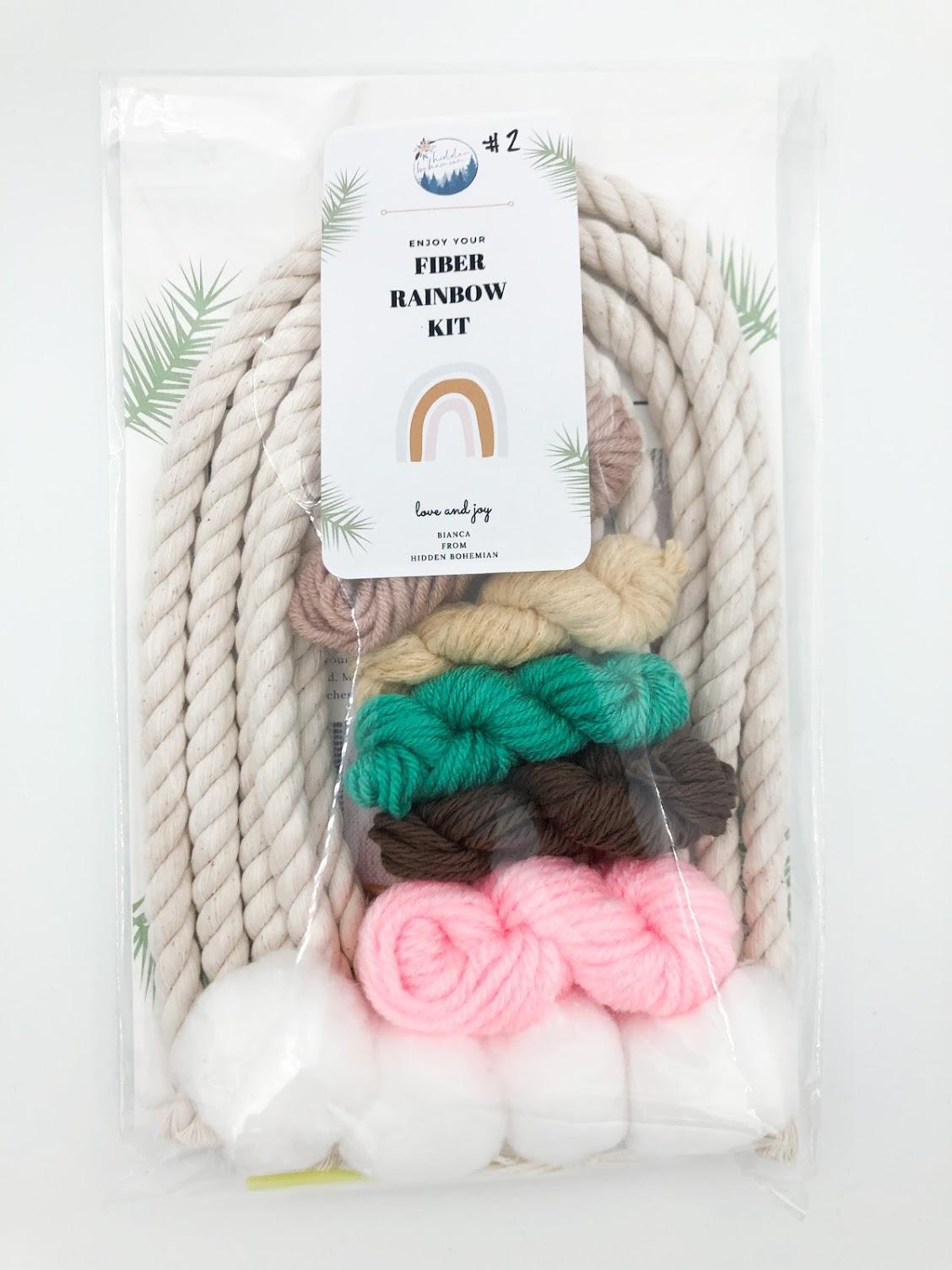 Rainbow Macrame Kit #2