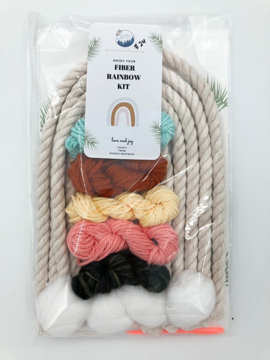 Rainbow Macrame Kit #24