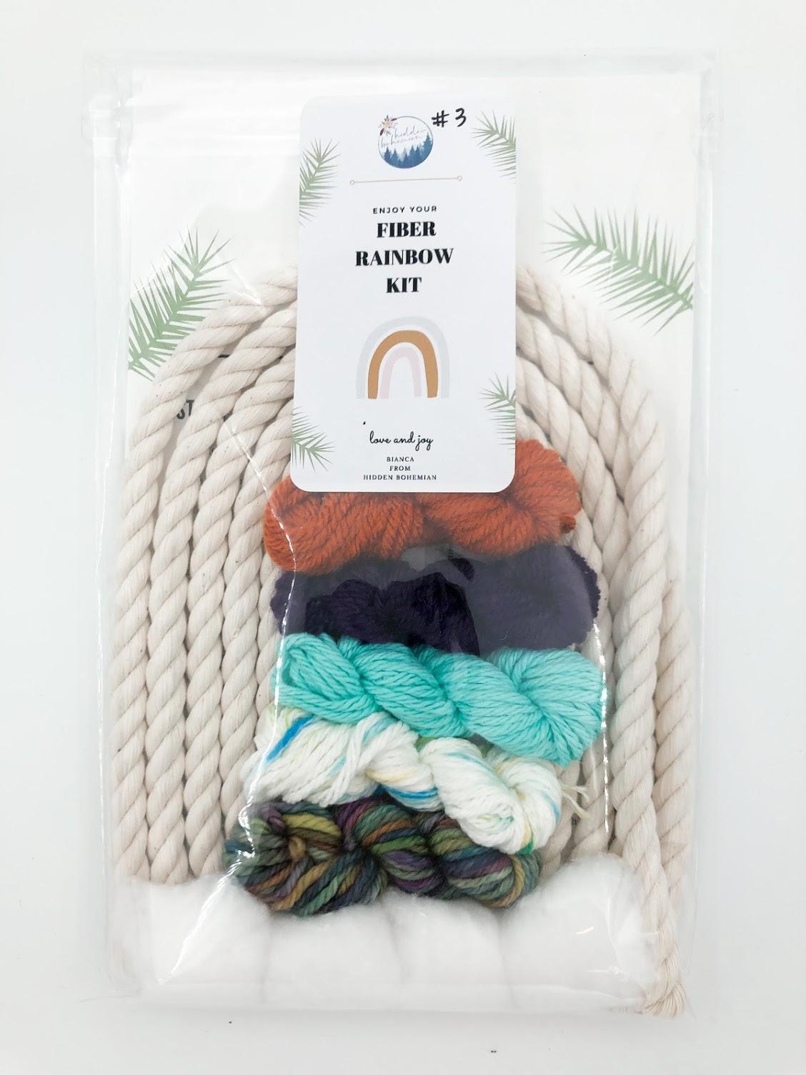 Rainbow Macrame Kit #3