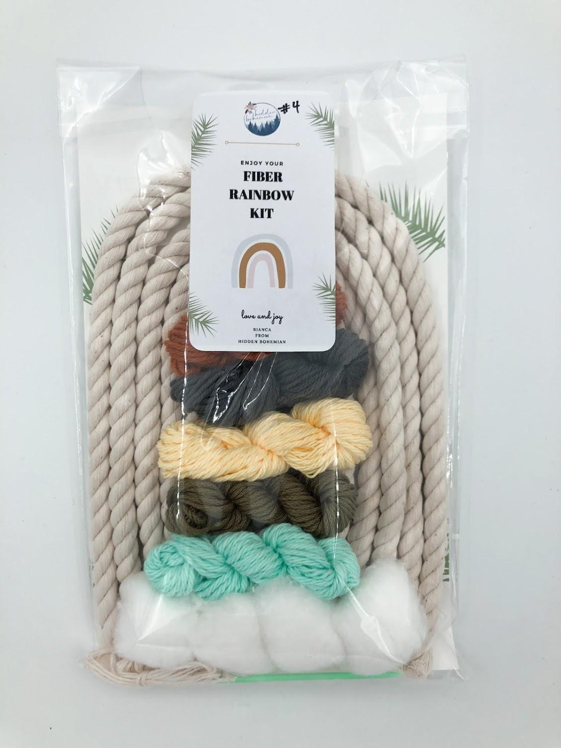 Rainbow Macrame Kit #4