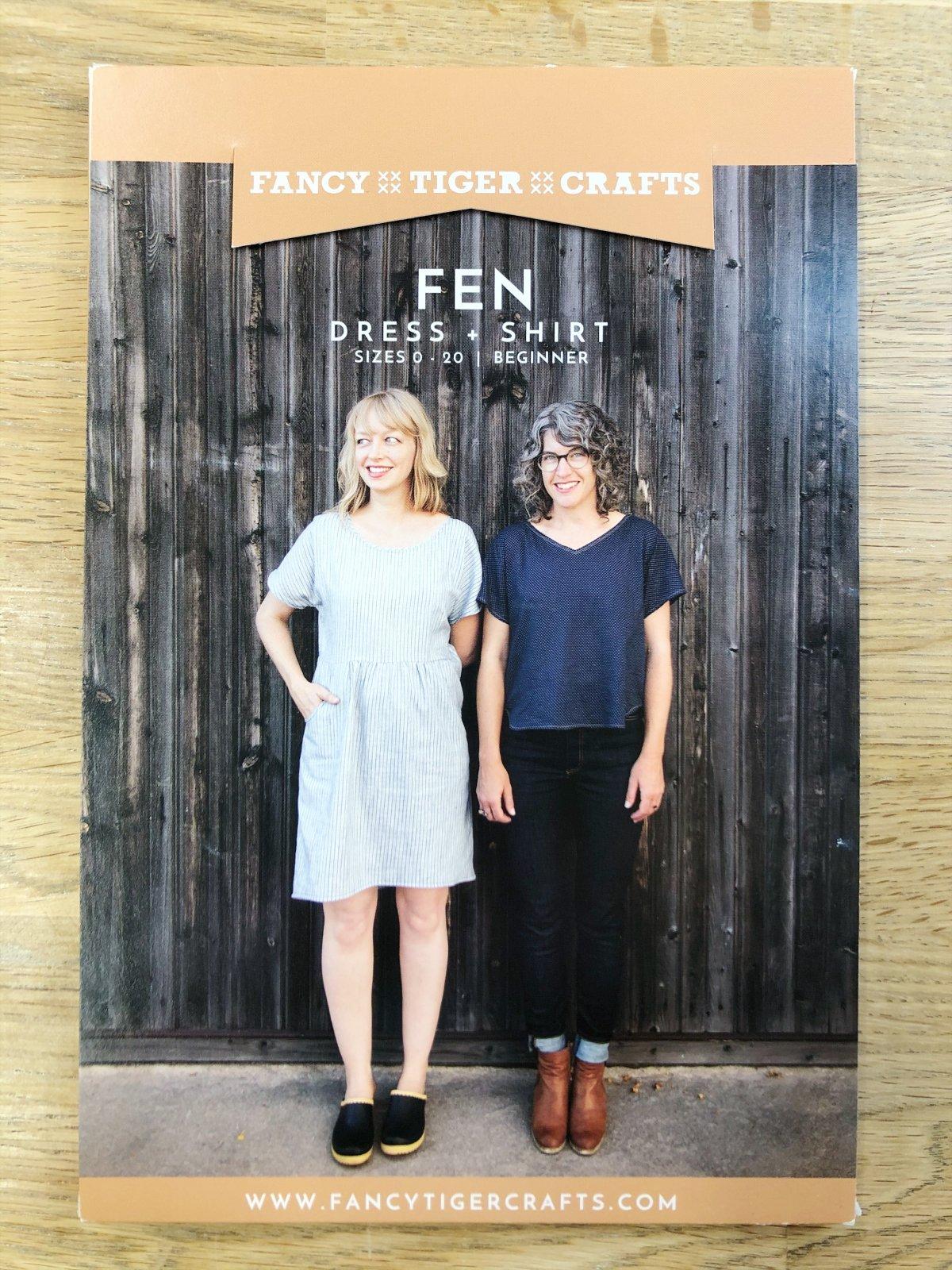 Fen Dress and Shirt Pattern