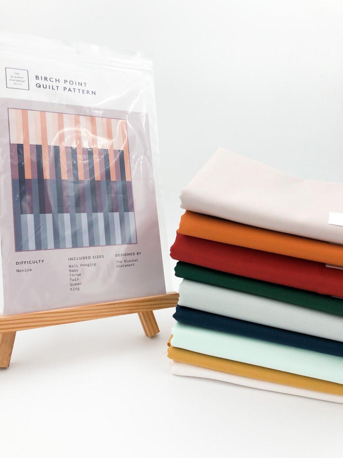 Birch Point Quilt Kit - Throw