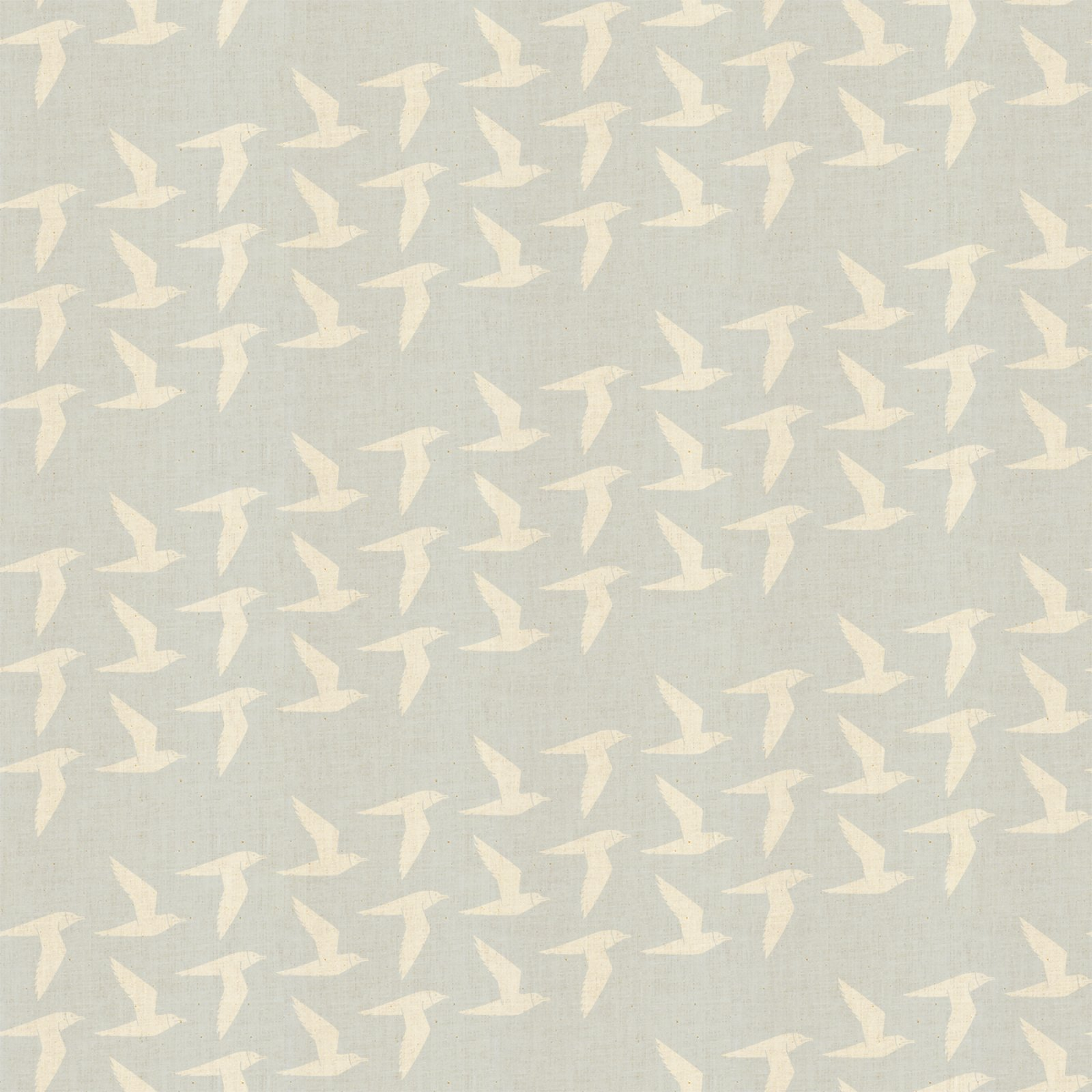 By the Seaside - Fly Along - Linen Unbleached