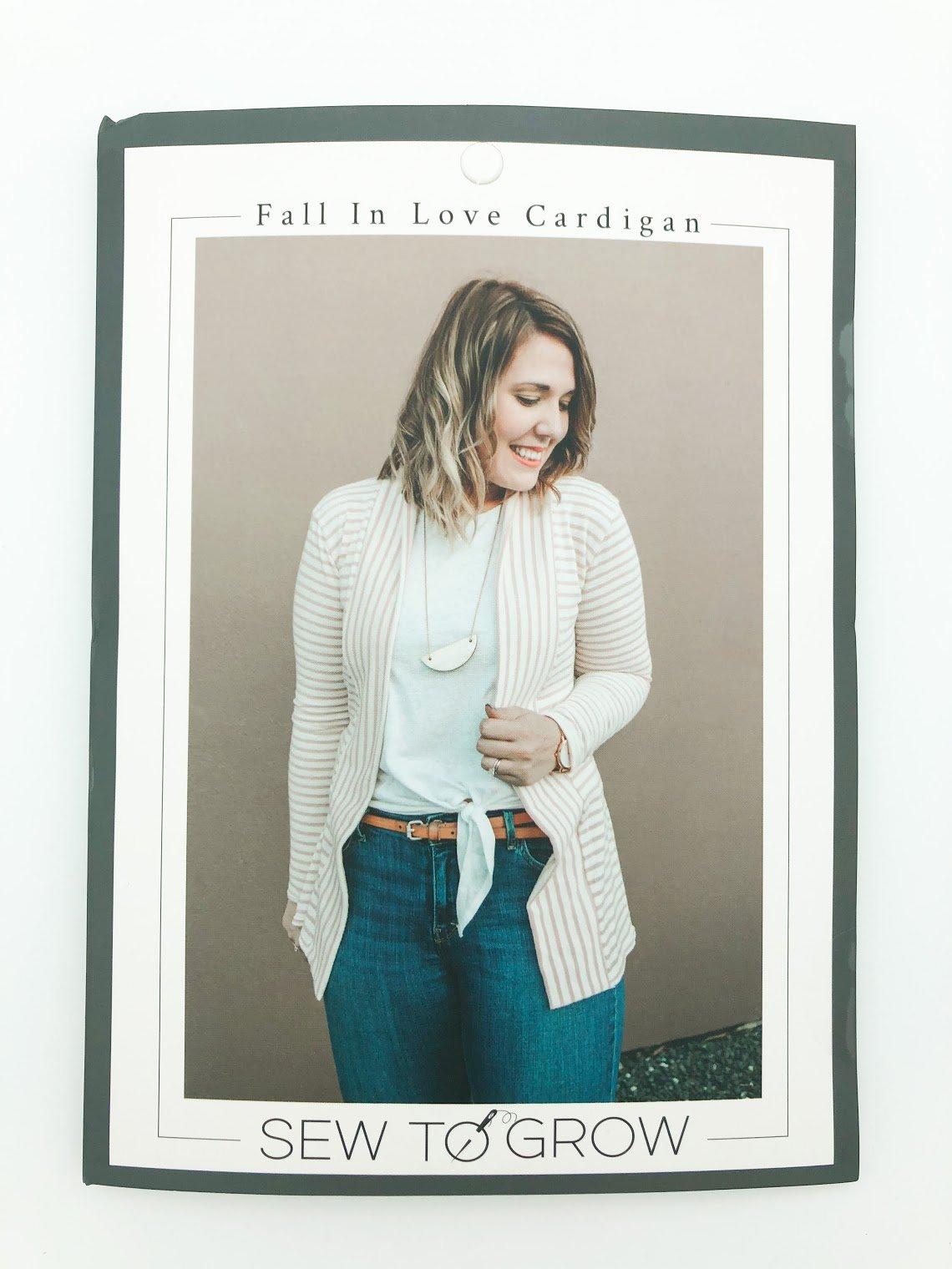 Fall in Love Cardigan Pattern