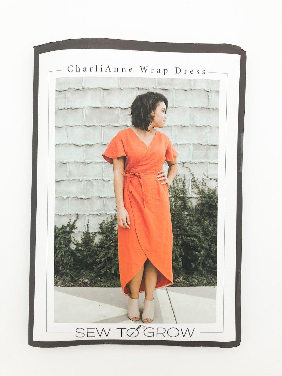 CharlieAnne Wrap Dress Pattern