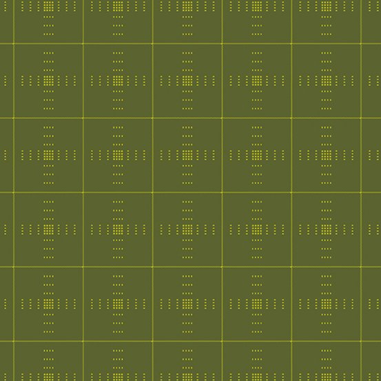Entwine - Plaid in Olive