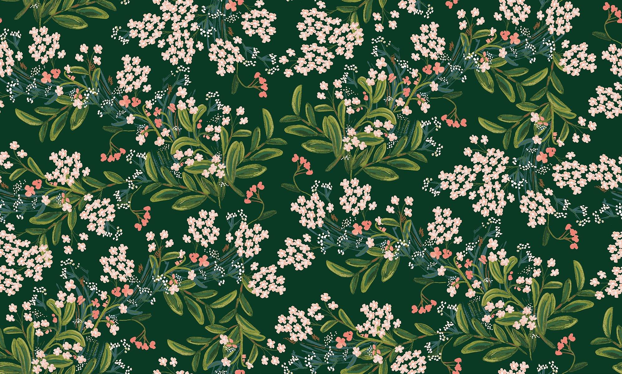 Meadow - Cornflower - Hunter Rayon