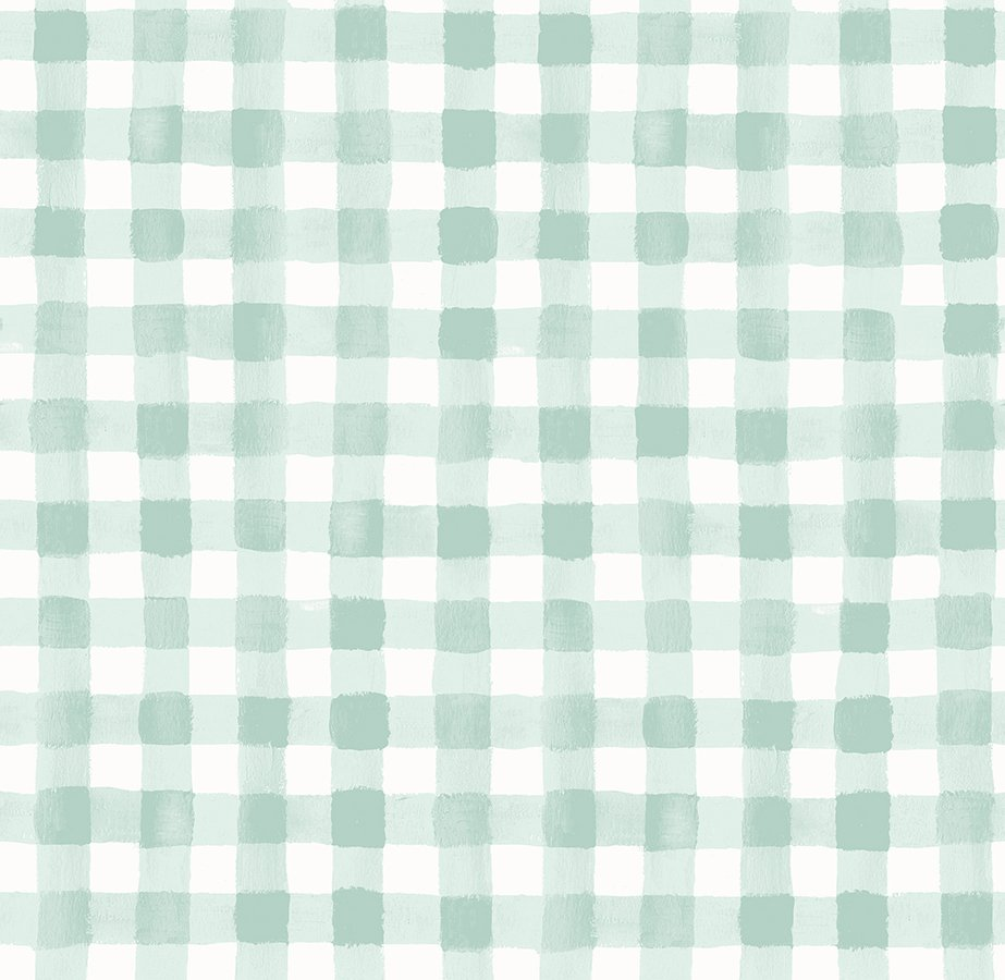 Meadow - Painted Gingham - Mint
