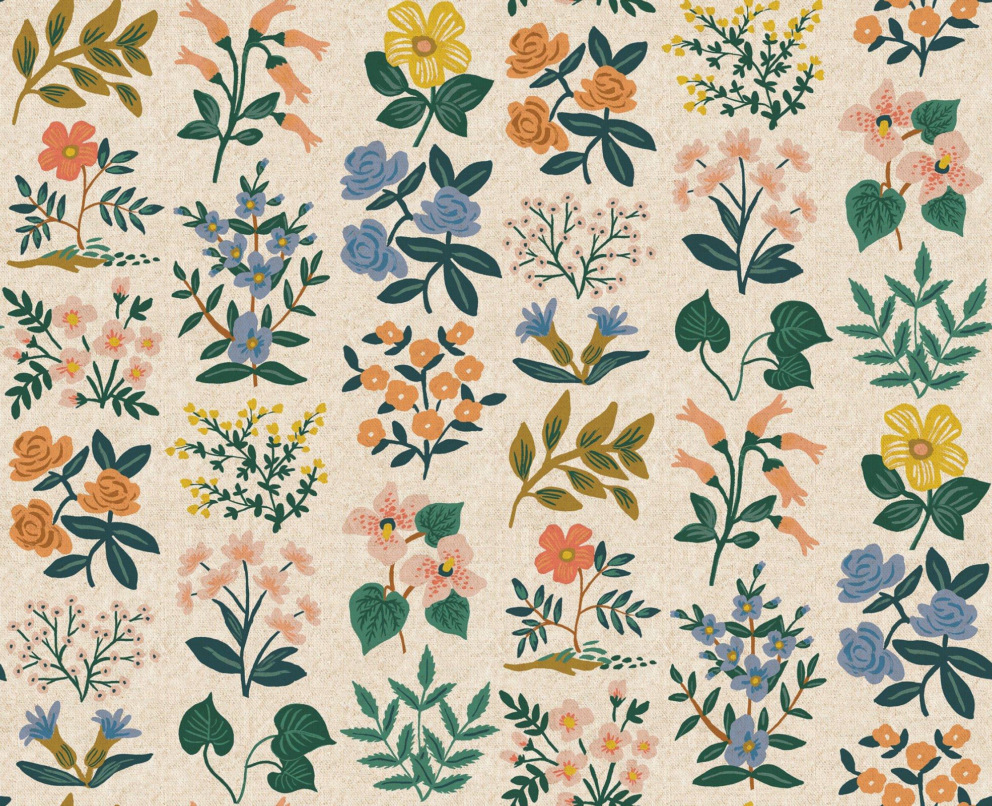 Meadow - Wildflower Field Cream Lawn