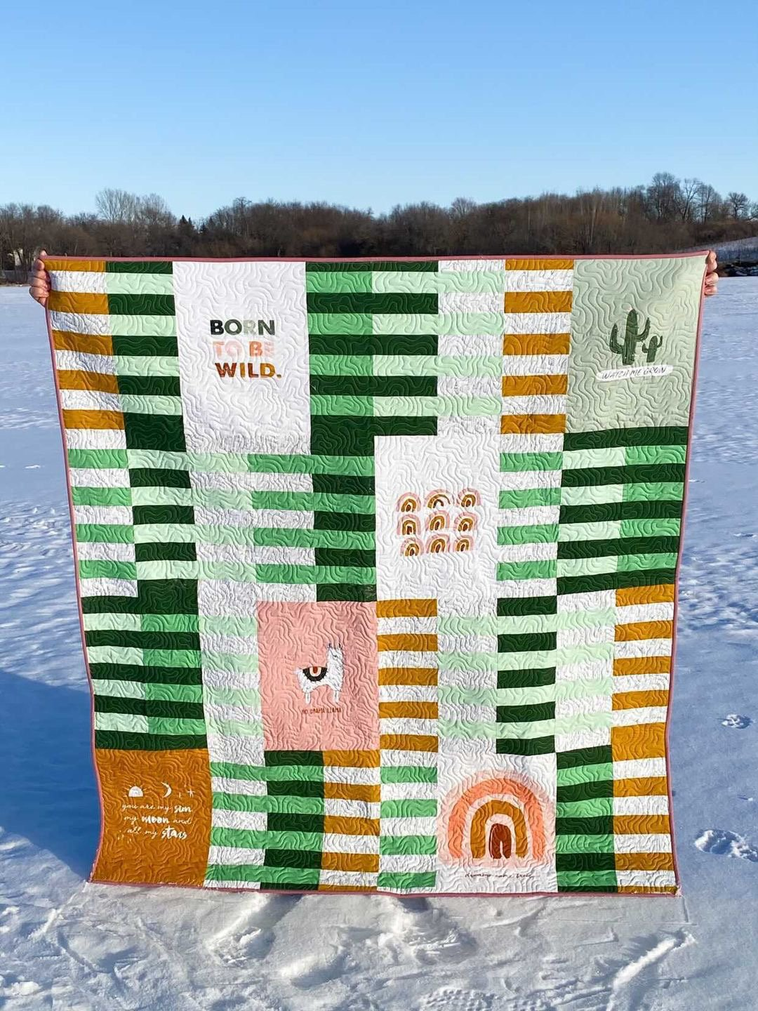 Pacha Formation Quilt Kit