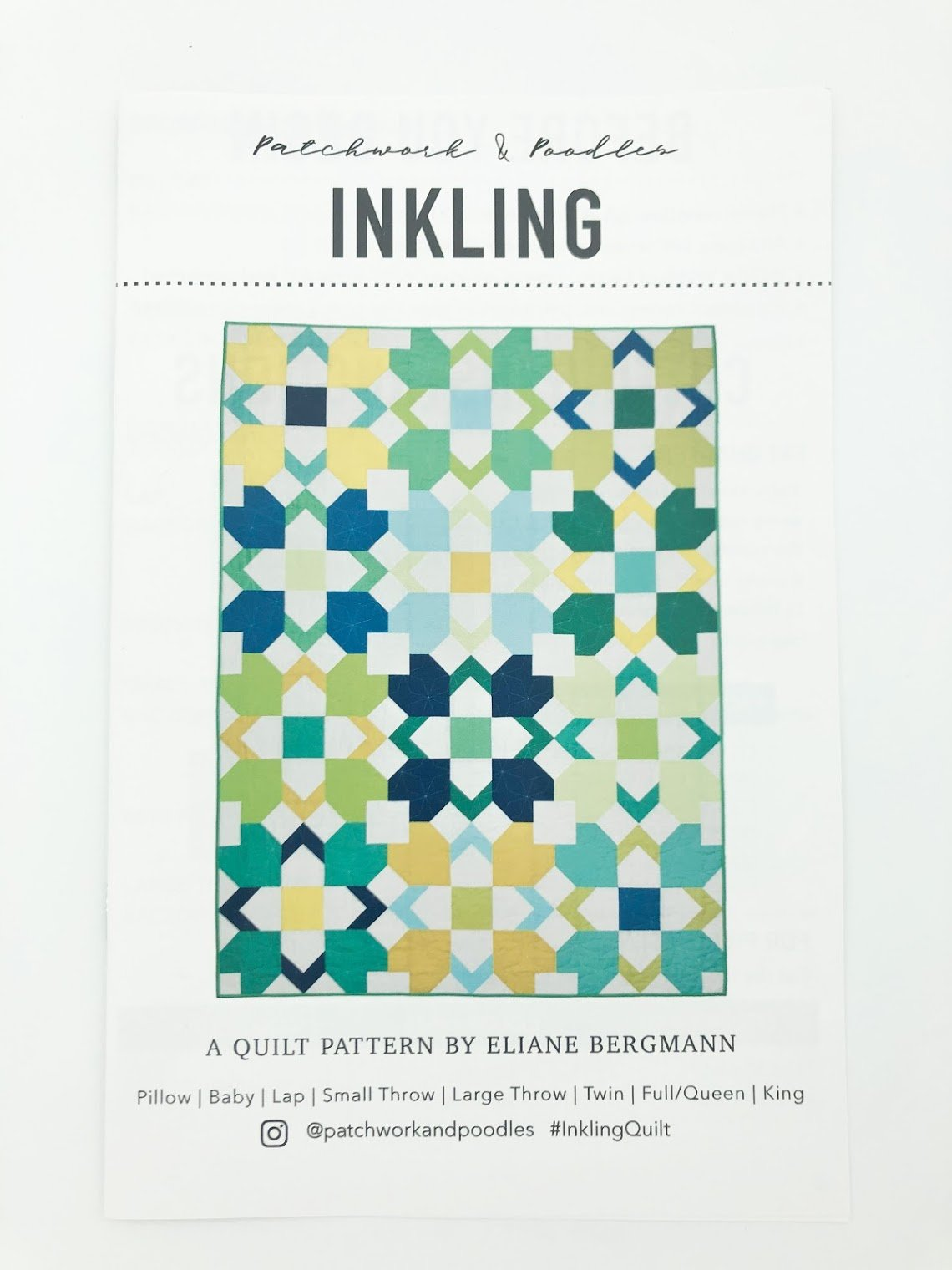 Inkling Quilt Pattern