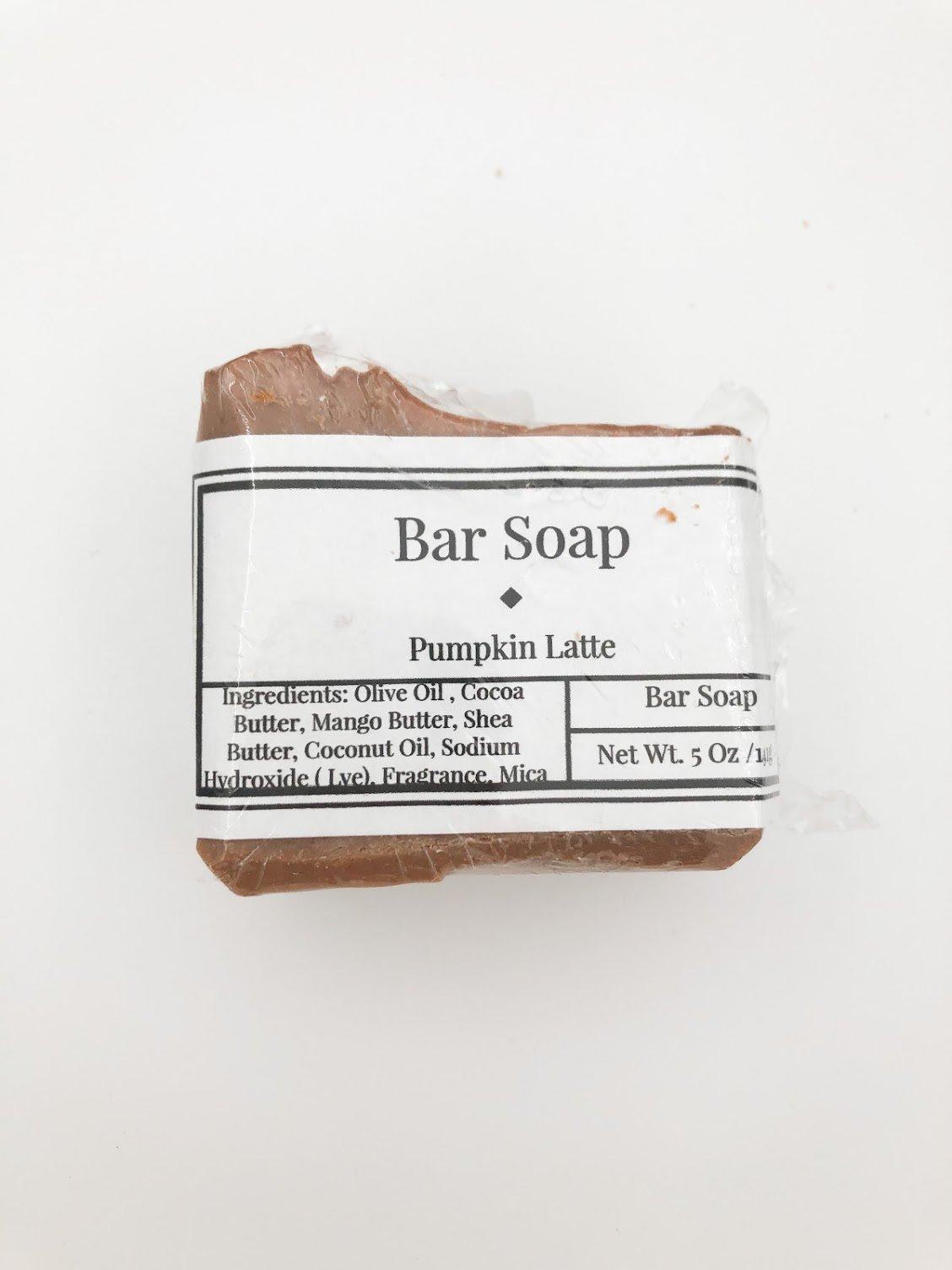 Bar Soap - Pumpkin Latte
