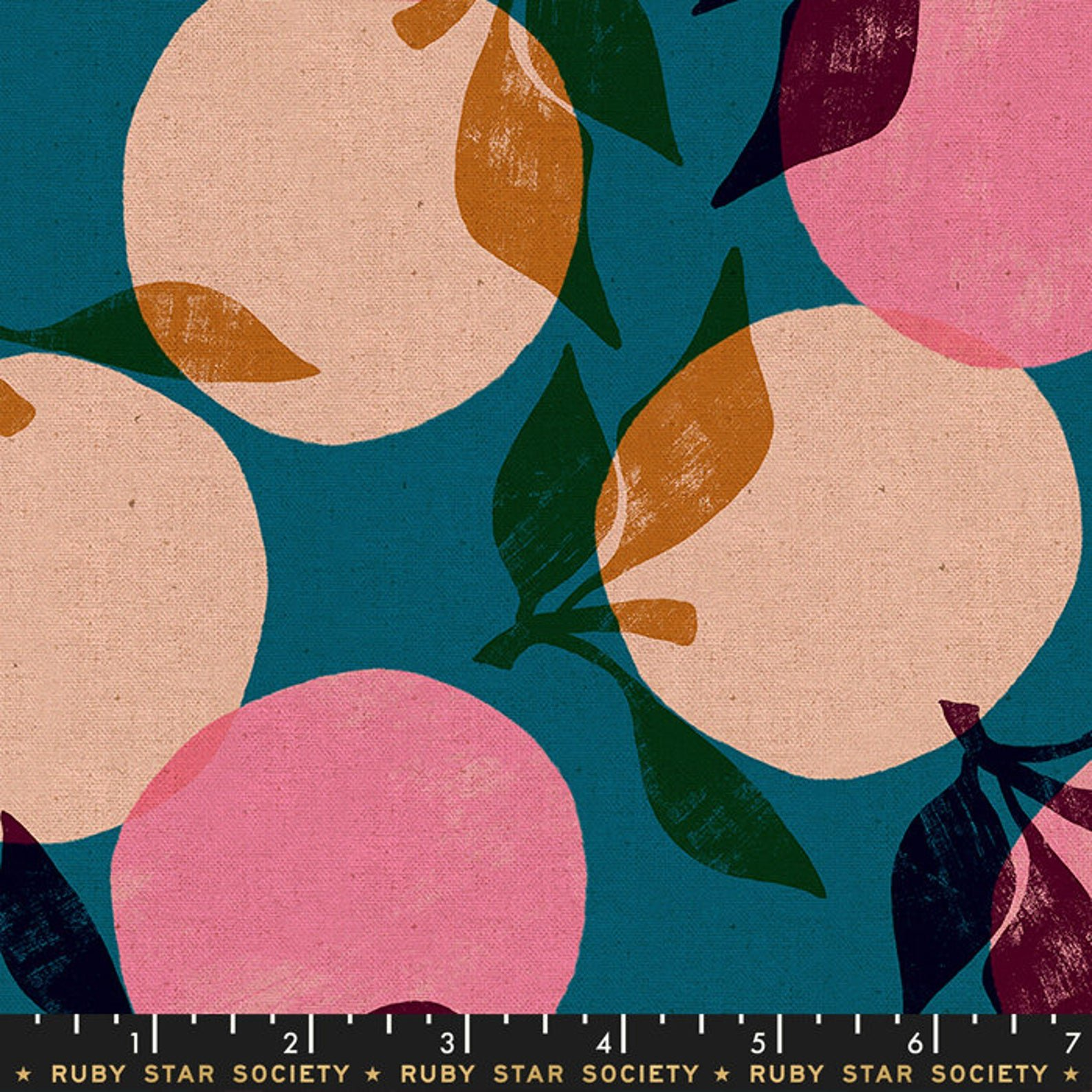 RSS Cotton Canvas - Teal