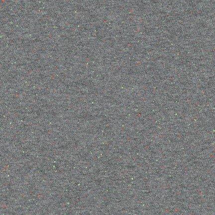 Grey Speckle Cotton Jersey