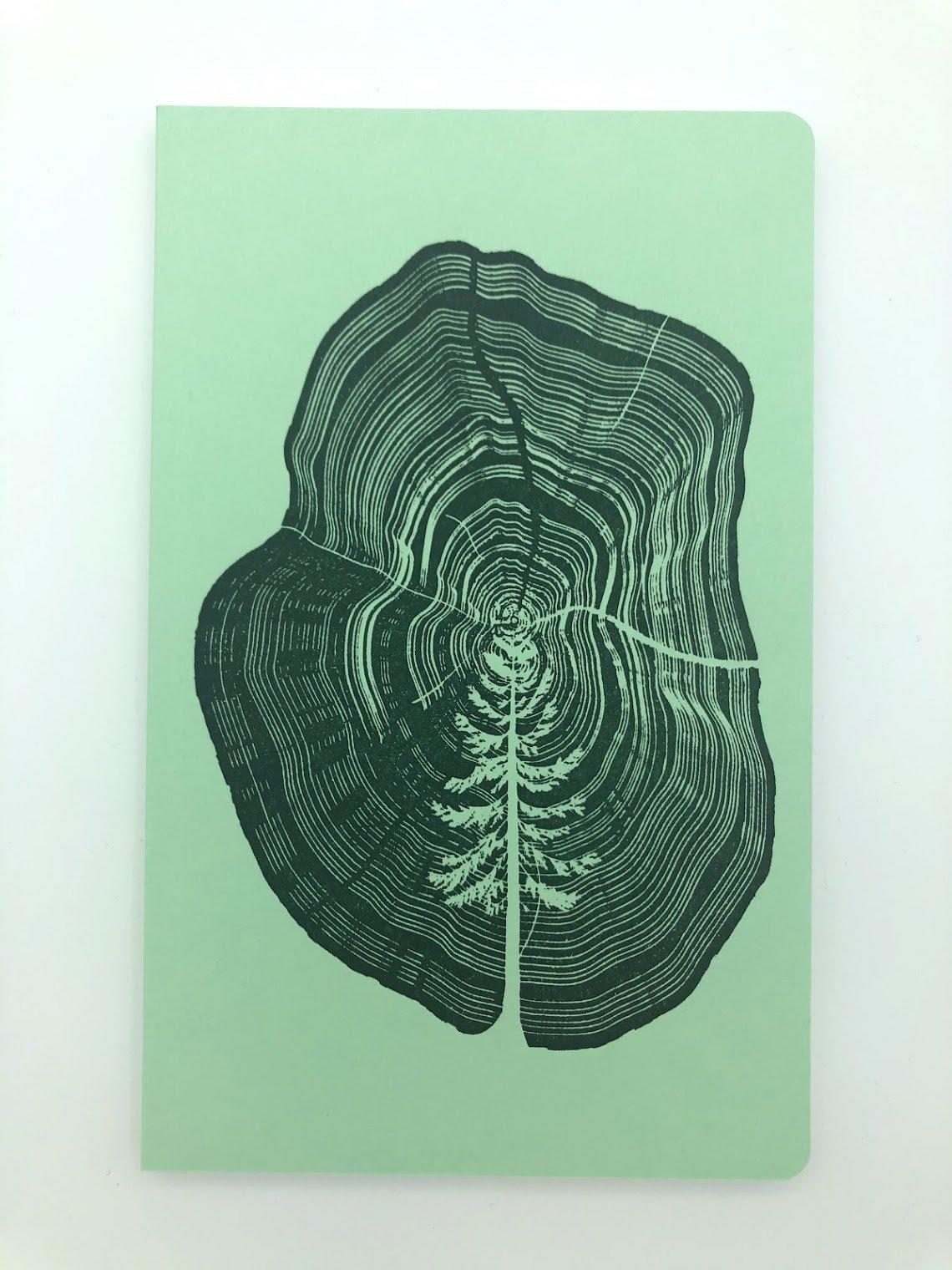 Tree Stump Notebook