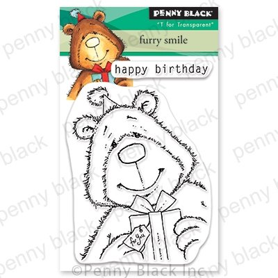 Penny Black Furry Smile Stamp