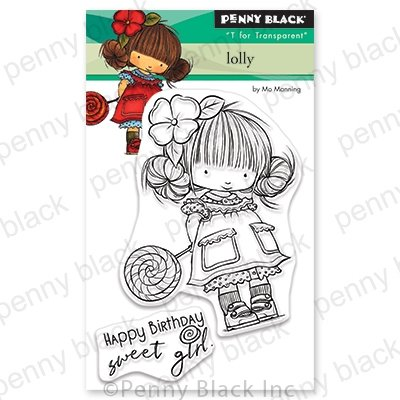 Penny Black Lolly Stamp