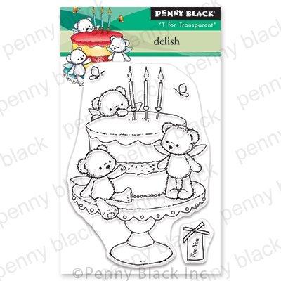 Penny Black Delish Stamp