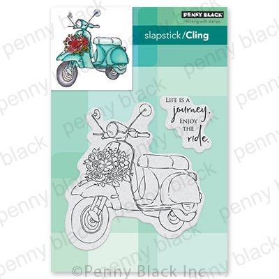 Penny Black The Ride Stamp