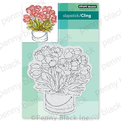 Penny Black Blooming Bunch Stamp