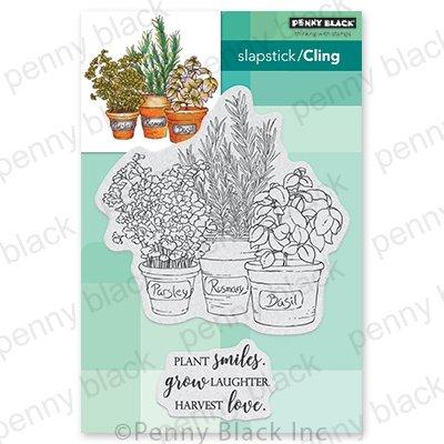 Penny Black Herb Garden Stamp