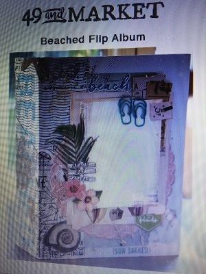 Mystery Monday #57 49 and Market Beach Flip Album Kit