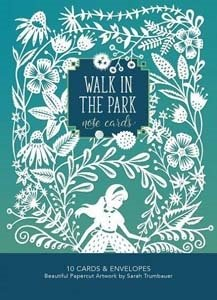 walk in the park notecards