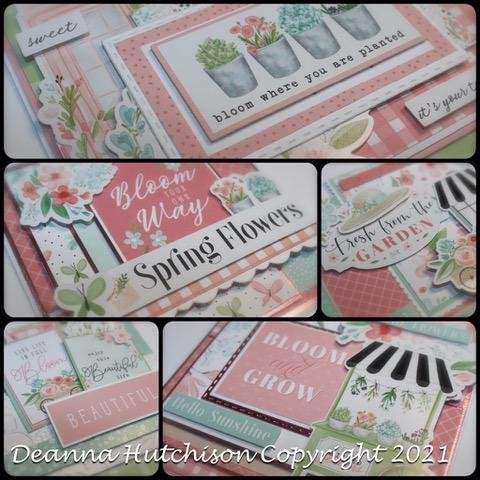 Floral Garden Virtual Card Class taught by Deanna SOLD OUT