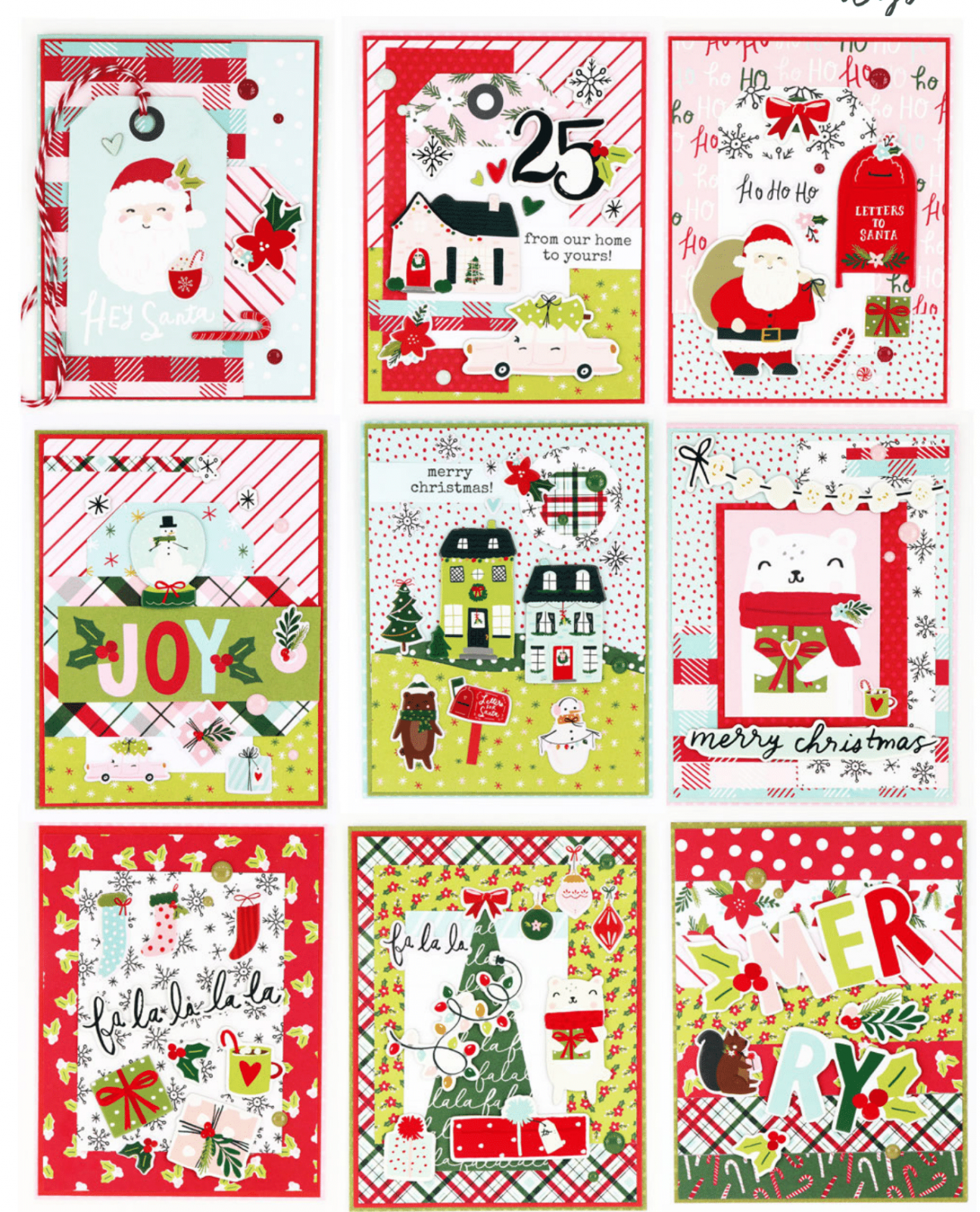 Mystery Monday #69 Holly Days Cards Kit to Go
