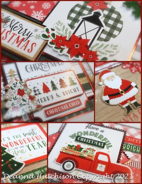 Jingle all the Way Virtual Card Class with Deanna